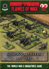 Flames of War BNIB SS Heavy Artillery Battery GBX56