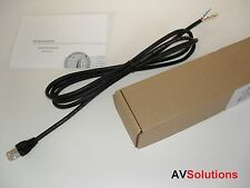 10 M. IR Eye/Receiver Cable for B&O BeoSystem 4 (Black, Low-Loss, SHQ)
