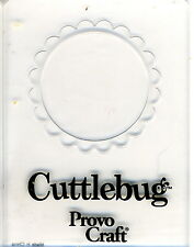 Cuttlebug Small Embossing Folder - Circular Frame (G)