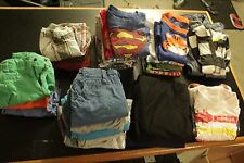 Lot of 40 Used Mixed Assorted Boys Kids Apparel Shirt Pants 12m to 2T (24m)