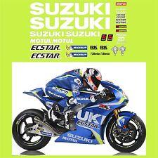 ADESIVI TEAM SUZUKI ECSTAR GSX-RR MOTO GP 2017 SPONSOR IANNONE - RINS