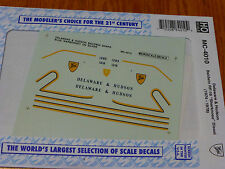 Microscale Decal HO  #MC-4010 DH Diesel - RF16 - Sharknose - Baldwin Dates:1974-