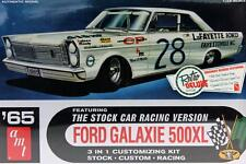 FORD GALAXIE 500XL 1965 STOCK CUSTOM NASCAR 1:25 AMT 723 PLASTIC KIT LORENZEN