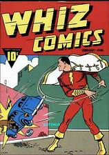 WHIZ COMICS #2 (1940) SHAZAM! CAPTAIN MARVEL COVER PLAQUE CLASSIC RARE 1974