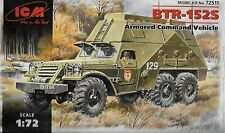 Soviet BTR-152S Armored Command Vehicle 1/72 Scale ICM 72511 (FREE SHIPPING)