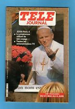 ►TELE JOURNAL N°288 - 1980 - JEAN PAUL II - BERNARD LAVILLIERS
