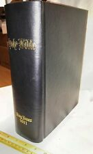 1611 King James Bible, 1st Edition/1st Printing Facsimile - KJV, KJB + Apocrypha