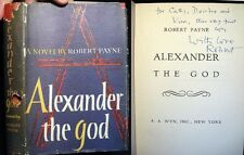 1954 ROBERT PAYNE ALEXANDER THE GREAT BIO-NOVEL INSCRIBED SIGNED 1ST EDITION