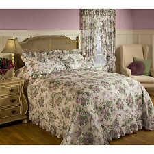 Plisse Floral Bedspread