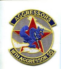 18th AGGRESSOR SQUADRON USAF Fighter Squadron Jacket patch