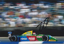 Nelson Piquet Hand Signed 12x8 Photo Benetton Ford F1.