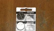2 PCS Energizer ECR2025 CR2025  3 V Litimum Batteries