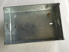 CRABTREE COOKER BOX METAL FOR CRABTREE COOKER SWITCH 4520/1 AND 4520/31