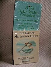3 Pack PETER RABBIT COLLECTION Book Set of 3 Beatrix Potter SEALED Mini 4-6 New