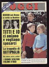 OGGI 17/1969 FULVIA 1600 COMPETIZIONE ABARTH SCORPIO SPICUP BERTONE SERENISSIMA