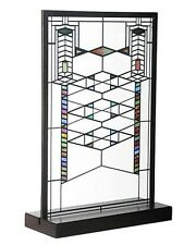 Frank Lloyd Wright Robie House Stained Glass Panel for Window or Table Display