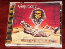 Virtuocity: Secret Visions CD 2001 Spinefarm Records Finland SPI137CD Original