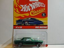 Hot Wheels Classic Series 2  #6 Green 1965 Mustang