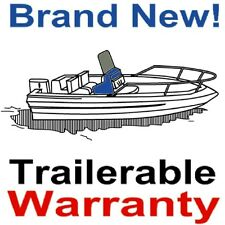 "17' 6"" - 21' 6"" Semi-Custom Center Console V-Hull Boat Cover,5 Year Warranty,New"