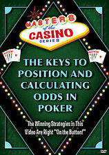 Masters of the Casino Series - The Keys to Position and Calculating the Odds (D…