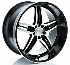 BMW Genuine Hamann Brand OEM HM EVO 8.5F & 11R x 20 Forged Wheels