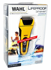 WAHL LifeProof Lithium Ion SHAVER Shock-Proof Water-Proof Wet Dry Flex Foils NEW