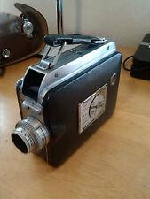 VTG 1940's Cine Kodak Magazine 8 Handheld 8mm Movie Camera w/ Case