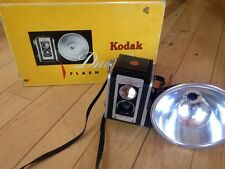 1950's KODAK DUAFLEX II CAMERA - FLASH OUTFIT - ORIGINAL BOX