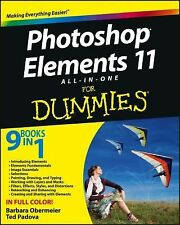 Photoshop Elements 11 All-In-One for Dummies by Ted Padova, Barbara Obermeier