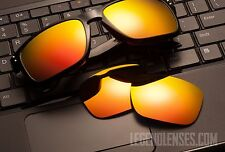 A47 Fire/Gold Mirror POLARIZED Replacement Legend Lenses For Oakley HOLBROOK