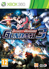 Dynasty Warriors Gundam 3 ~ XBox 360 (en gran condición)