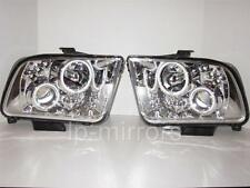 05 06 07 08 FORD MUSTANG HALO LED PROJECTOR HALOGEN HEADLIGHTS PAIR SET