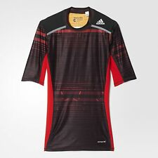 NWT Men's adidas TECHFIT Chill Short Sleeved Shirt L Msrp $45.00 (AY8365)