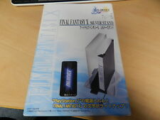 Final Fantasy X Hori PS2 Light up silver stand Rare to see