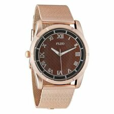 Flud Men's TMT013 The Moment-Carbon Fiber Gold Watch