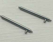 1Pair 20 mm Quick Release Spring Bar S/less Steel 1.78mm Spring Watch Speed Pins