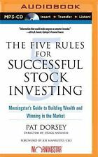 The Five Rules for Successful Stock Investing : Morningstar's Guide to...