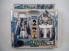 80's Takatoku Japan Macross Diecast SDF-1 & VF-1J Hikaru Robotech Rick Hunter
