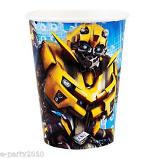 TRANSFORMERS Revenge of the Fallen 9oz PAPER CUPS (8) ~ Birthday Party Supplies