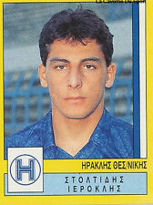 N°149 IRAKLIS THESSALONIKI GREECE PANINI GREEK LEAGUE FOOT 95 STICKER 1995
