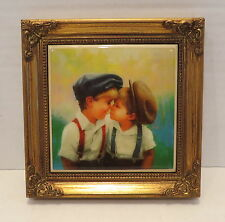 Donald Zolan TWO OF A KIND Collector Framed Tile