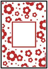 Crafts Too A6 Embossing Folder FLOWERS FRAME CTFD3044