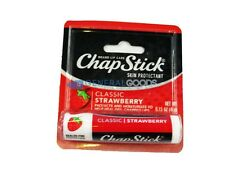 ChapStick Lip Balm Strawberry 0.15 oz (Pack of 5), New