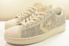 DS 2013 CONVERSE TERRY PACK PRO LEATH OX OYSTER GRAY MEN 7 / WOMEN 8.5 VINTAGE