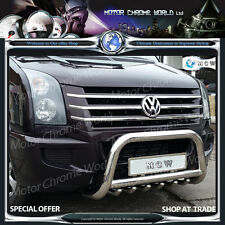 VW VOLKSWAGEN CRAFTER CHROME GRILL GRILLE COVERS ACCENT TRIM STRIPS 2012+ SSTEEL