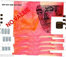 LOT 5 BILLETS TEST NOTE ECHANTILLON BANQUE DE FRANCE 50 EURO€ RAVEL ROUGE