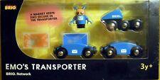 Brio 33286: Emo's Transporter zu Brio Network, 6-teilig mit Figur, NEU & OVP