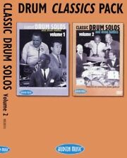 Drum Classics Pack Solos & Battles Learn to Play Drummer Music DVD Vol 1 & 2