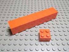 Lego 10 Basic Steine 2x2 hoch orange  3003 Set 4587 8162 9337 5858