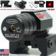 Tactical Red Laser Beam Dot Sight for Gun Rifle Pistol Picatinny Mount WP G1CG